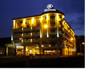 Here is the place to be in july, Hilton in Sibiu. Make a lot of living for a few bucks.