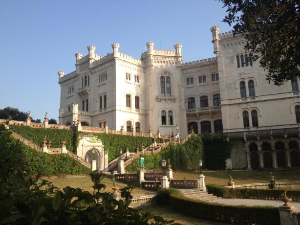 Miramare castle - museum and marine park