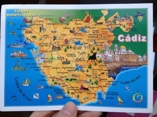 My friends around the world: Rota, Spain