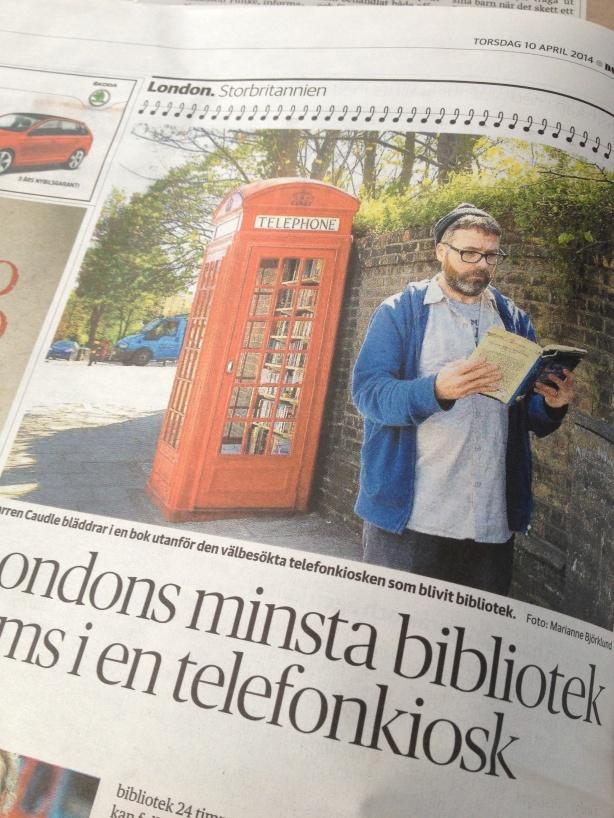 Hot spot: world's smallest libary